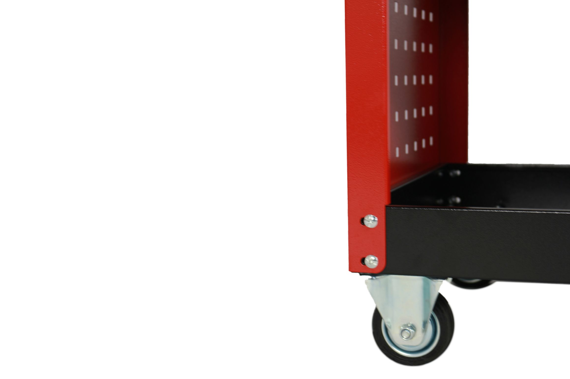 Tool Trolley Cart Storage 3-Tier Metal Rolling Steel Mechanic Utility