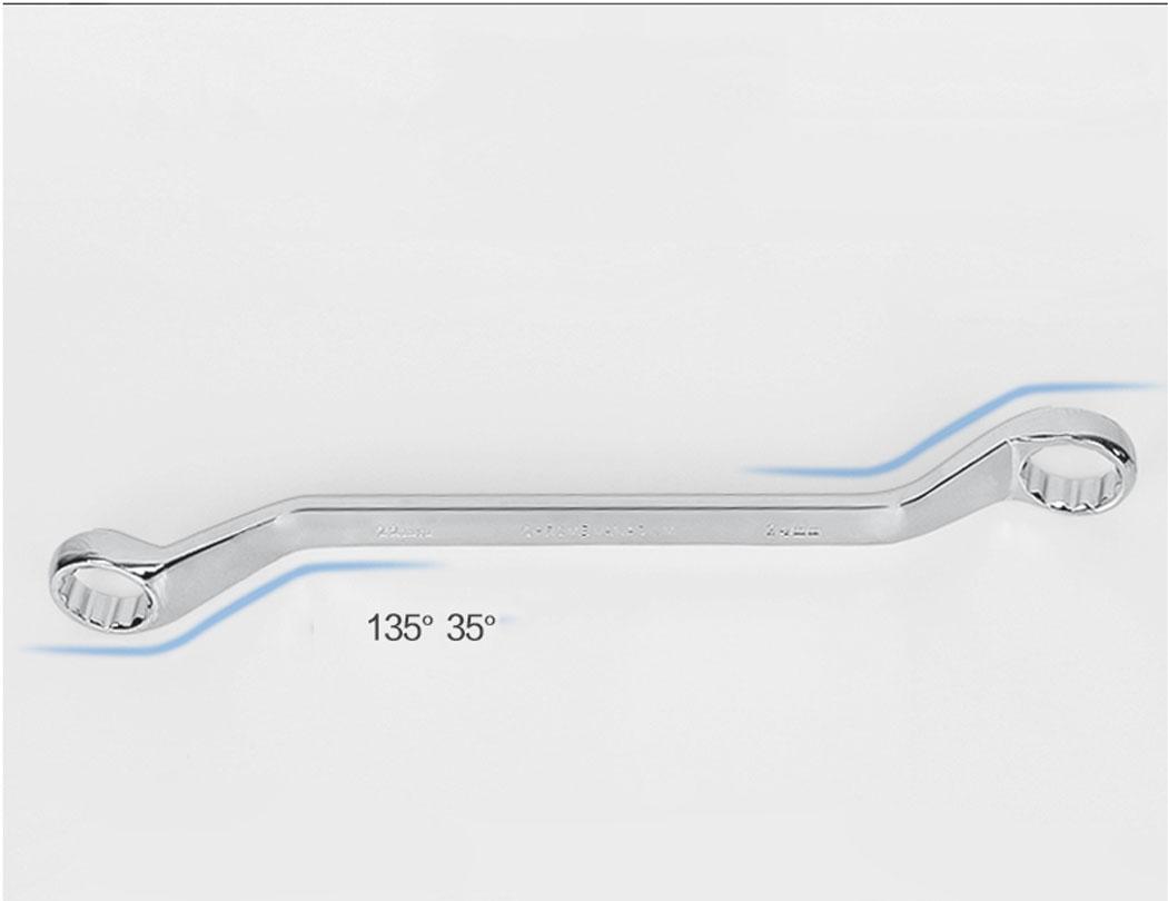 10PCS Double Ring Offset Spanner Set (5.5mm - 32mm)