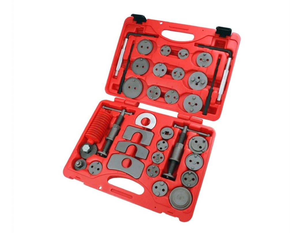 35pcs Universal Brake Wind Back Tool Kit Disc Caliper Piston Rewind